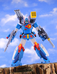 Xabungle (Hi Metal R Bandai) (guitar hero78) Tags: toys actionfigure anime xabungle bandai mech hi himetalr jfigure jmodel fujifilm fujinon xf60mm xe1 stilllife super robot sunrise