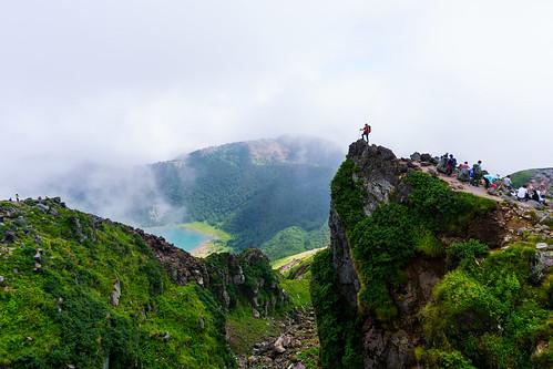 山頂から五色沼