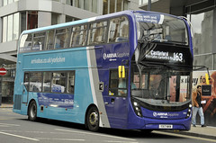 YX17NKW Arriva Yorkshire 1970 (martin 65) Tags: wrightbus e400 mmc sapphire road transport enviro400 enviro westyorkshire west yorkshire public group leeds vehicle bus buses