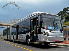 6 1307 Viação Cidade Dutra (busManíaCo) Tags: busmaníaco nikond3100 caioinduscar ônibus viaçãocidadedutra caio millennium brt articulado mercedesbenz o500uda bluetec 5