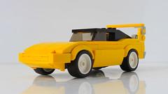 Lego Dodge Charger Daytona moc (hachiroku24) Tags: lego dodge charger daytona plymouth moc car