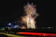 National Fireworks Association Convention Public Display 9/9/17 (dalesins) Tags: fireworks nationalfireworksassociation convention 2017 publicdisplay sonya6000 snapseed eriezspeedwaynortheastpa