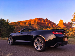Chevy camero desert sunset (Valen Kay Photography Mark A Snyder) Tags: bestpics2018 2018bestphotography sedona arizona phoenix desert convertible iphonewallpaper camerors chevy bestcarpics iphone6photography sunsetdesert sportscarwallpaper sportscars exoticcars phoenixarizona sedonaarizona 2018chevycamero