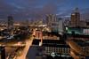 Kuala Lumpur Sunrise (Nur Ismail Photography) Tags: cityscape petronastwintowers nightphotography hdr malaysia kltower menarakl sunrise nurismailphotography