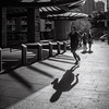 Coming & Going (Michael Rawle) Tags: shadow activities streetpeoplephotography darlinghurst run streetphotography sydney footpath places people newsouthwales australia au