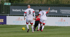 Lewes 2 Cray Wanderers 1 16 09 2017-360.jpg (jamesboyes) Tags: lewes cray wanderers football soccer nonleague amateur sport celebration goal score tackle canon 70d
