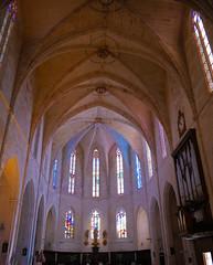 Ciutadella Cathedral interior (Matt C68) Tags: catedral de santa maría ciudadela ciutadella menorca basilica church spain