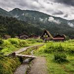Rainy day in Shirakawa-gō thumbnail