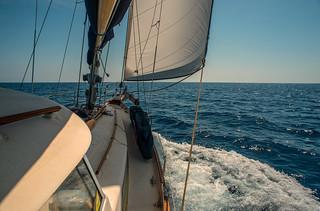 Sail away, sail away, sail away.......