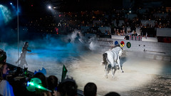 It's the same show but still spectacular all the same. (kuntheaprum) Tags: medievaltimes dinnershow horse sword lance joust nikon d750 sigmaart 50mm f14