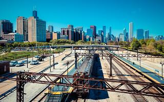 Trains in Chicago