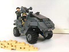 My custom designed warthog 👊 (eamonnali2) Tags: spartan 117 cheif master cortana scifi starwars covenant unsc military vehicle car warthog legohalo lego halolego halo