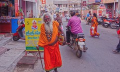 Street photography (Rajavelu1) Tags: sadhu street streetphotography candidstreetphotography colours people india art creative outdoorphotography canon1018mmf4556lense canon60d artdigital