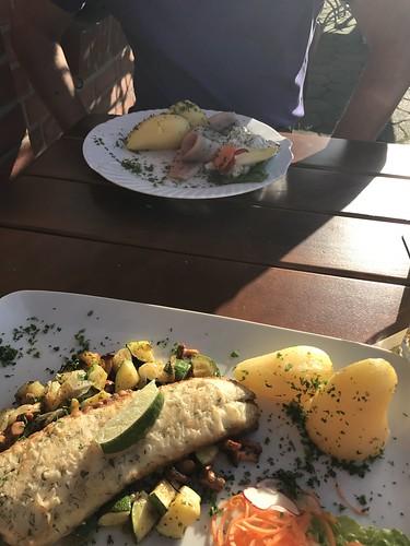 Rostock Restaurant Meyers Muehle Seelachs