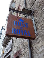 pub sign (chrisinplymouth) Tags: rustroyal bar pub publichouse inn tavern sign pubsign barbican plymouth devon england uk cw69x 2017 city urb plymgrp camminante plain