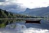 Båtspeiling -|- Boat reflection (erlingsi) Tags: rotevatn reflection speiling noreg volda båt robåt rowboat landscape treverk madeofwood