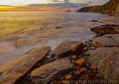 Collywell bay (sidrog28) Tags: early morning long exposure uk northeast northumberland north east nikon seaton sluice sun lighthouse