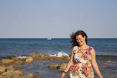 In riva al mare 1 (DeVisu & Lagunare) Tags: canon eos 350d isola correnti island sicily sicilia tamron polarizzatore cpl girlfriend girl shot spiaggia bay mare sea riva