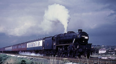 lancs - 45349 hest bank 67 (johnmightycat1) Tags: railway wcml lancashire steam black5