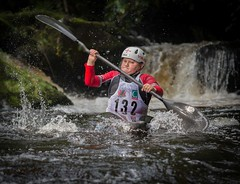 Determined Kayaker (Chris Willis 10) Tags: sport water splashing speed rapid action people outdoors competition motion wet river spray competitivesport extremesports men sportsrace watersport lifejacket fun kid boy child kayak