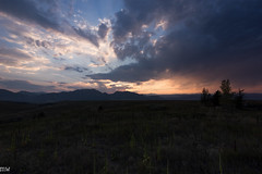 Sunset from the Hills of Boulder County (MikeWeinhold) Tags: sunset boulder superior 36 hills clouds tallgrass red ominous colorado 6d 1740mm
