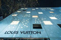 Louis Vuitton Ginza (Pop_narute) Tags: louis vuitton shop retail store building design facade architecture lighting light night material ginza tokyo japan