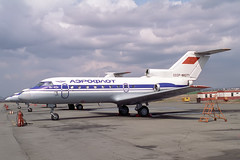 CCCP-88271 Yakovlev Yak-40K Aeroflot (pslg05896) Tags: ukk uask ustkamenogorsk oskemen cccp88271 yakovlev yak40 aeroflot