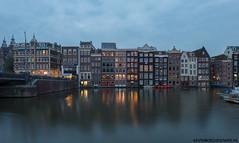 Damrak Amsterdam op 26 Augustus 2017
