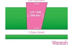 Lot 1989, 2 Sylan Street, Marsden Park NSW