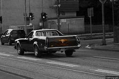Us Car Flamed (DJR-FOTO) Tags: us uscar tribal flamed sw street schwarzweis schwarzweiss streetfotografie strassenfotografie streetphotographie