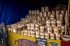 Viking Village 17 (allybeag) Tags: largs vikingvillage crafts historical reenactment tankards wooden
