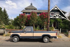 Ford PU 150 '70s (__HK __) Tags: oregon portland pickup ford vintage
