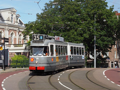GVB 586 (jvr440) Tags: tram trolley strassenbahn ema retm gvb bolkop 2g 586 roetersstraat plantage kerklaan