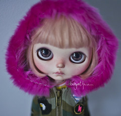 """You should know pink is the new punk"" (_babycatface_) Tags: blythe blythecustom babycatfacedollies babycatface blythedoll custom customblythe customdoll cute cutiepie doll dollphotography dollcustom toy toyphotography takara takaradoll takaratoy"