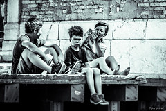 Family (joe petruz) Tags: people street bnw black white family venice italy streetphotographers canon eos 650d travel vintage