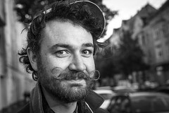 """#180 """"Hey Rob, what the hell are you doing on this planet?"""" (Hendrik Lohmann) Tags: street streetportrait streetphotography series portraits portrait urban project whatthehell hendriklohmann nikon"""