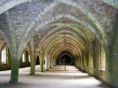 Fountains Abbey Undercroft, showing religious Wooden Cross (rossendale2016) Tags: moss damp green nationwide king demolished removed roof monasteries dissolution archdeacon deacon priest vicar monk monks abbess church knave abbot habits earthen earth floor dirt under area large tall ceiling amazing architecture strong old arches arch stone picture photo class master photography masterraft crucifix cross wooden religious showing undercroft yorkshire ripon abbey fountains