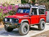 Land Rover Defender 90 (OffdaLipp) Tags: offdalipp leica rangerover defender red offroad trailready british 4x4 truck car jeep equipped winch shovel defender90 offroadlights hella ll
