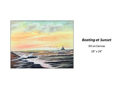 """Boating at Sunset • <a style=""""font-size:0.8em;"""" href=""""https://www.flickr.com/photos/124378531@N04/36998404786/"""" target=""""_blank"""">View on Flickr</a>"""