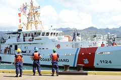 Cutter Oliver Berry arrives to new homeport in Honolulu (Coast Guard News) Tags: honolulu hawaii unitedstates us