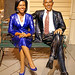 DSC09922 - Michelle and Barack Obama