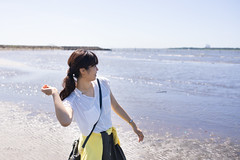 Beautiful woman throwing stone to the sea (Apricot Cafe) Tags: img60013 asia asianandindianethnicities healthylifestyle japan japaneseethnicity kasairinkaipark sigma35mmf14dghsmart tokyojapan beach beautifulwoman blackhair breezing candid carefree casualclothing charming cheerful colorimage copyspace day enjoyment happiness horizontal innocence leisureactivity lifestyles longhair oneperson onlyjapanese outdoors people photography publicpark purity realpeople refreshment relaxation sea sideview sky smiling stone sustainablelifestyle threequarterlength throwing toothysmile walking women youngadult