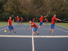 257.365 Court Coverage (marcy0414) Tags: tennis tenniscourt photoshop multiplicity randy project365