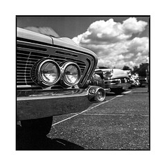 eight ball day #10 • thise, france • 2017 (lem's) Tags: 8 eight ball thize teddy cruisers besancon france classic car automobile american kustom vintage zena bronica