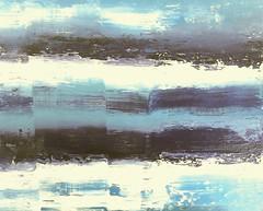 Nacht am Meer (Peter Wachtmeister) Tags: artinformel modernart artbrut minimalart surrealismus surrealism acrylicpaint abstract popart illustrationen hanspeterwachtmeister