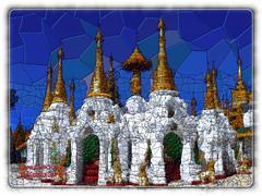 Rangun (reinhard111) Tags: rangun tempel tempelanlage dekoration gimp