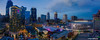 Kansas City Downtown Panorama (ericbowers) Tags: aerial aerialphoto builtstructure development downtown downtowndistrict dronephoto dusk highrises horizontal illuminated kansascity midwestusa missouri nopeople panorama panoramaphoto scenic sky skyline skyscrapers