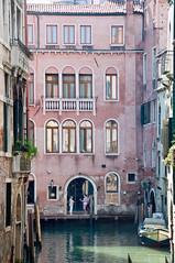 Venice 06 (ValterB) Tags: euro 2017 nikon d90 venice valterb venezia venedig water wall waterreflection window building architecture facadelines shadow abstract euro2017 nikond90