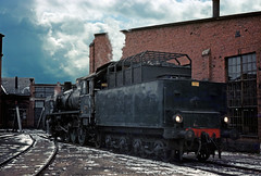 "Finnish Railways ""Risto"" Tr1 2-8-2 No. 1079 on Riihimäki shed in March 1972 by Trains and trams eveywhere -"