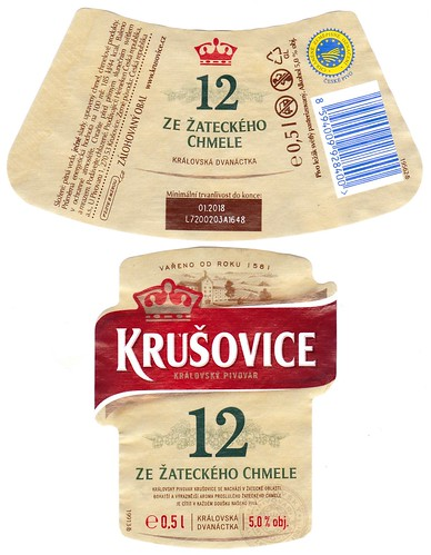 Krušovice, Royal 12°, 2017-18